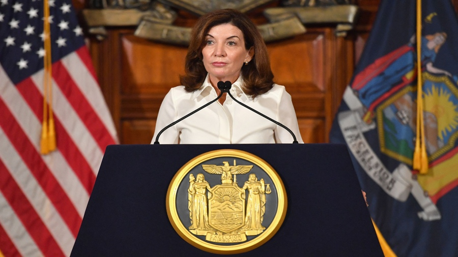 WATCH LIVE: Gov. Hochul helps launch COVID-19 booster siteMatt DriffillRochesterFirst